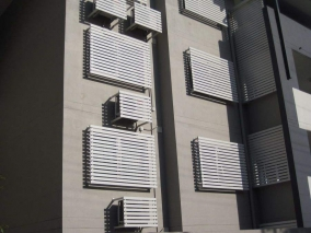 详细为大家介绍一下空调百叶窗的装饰验收成果