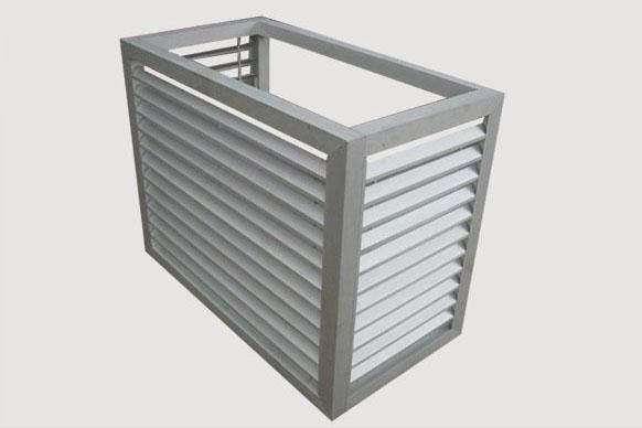 河源优质阳台空调外机百叶窗厂家
