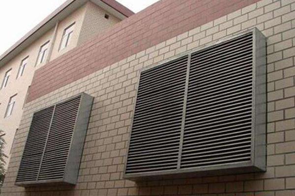 西安专业空调出风口百叶窗厂家